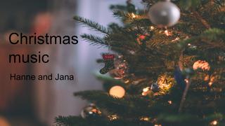 Christmas music - Hanne, Jana