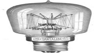 NOAH ALGER - Ch. 19 Invention