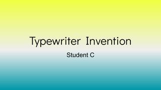 Emma Thelander - Ch. 19 Invent