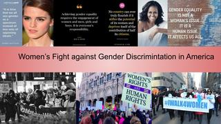 Women's Fight against Gender D