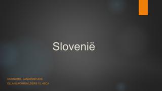 landenstudie slovenië