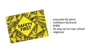 evacuatieoefening