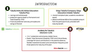 ISF3209 - Takaful Presentation