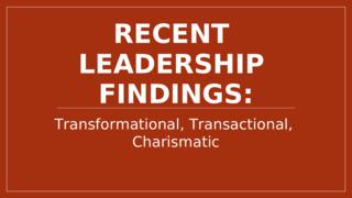 Leadership Across Culture