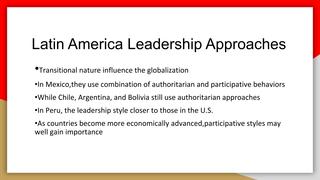 Leadership Across Cultures