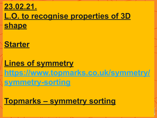 properties of 3D shape L2