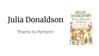 J Donaldons Poems to Perform