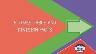 Maths 11.1.21 6x Tables