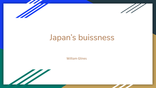 Japan's buissness