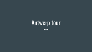 antwerptour