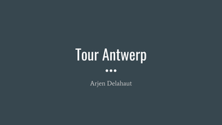 TourAntwerpADelahaut
