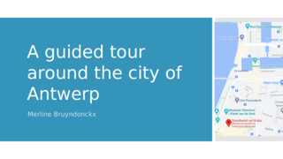 A guided tour around the city