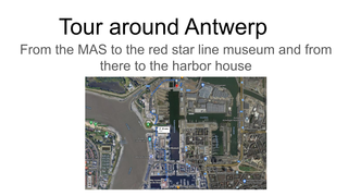 English Tour around Antwerp