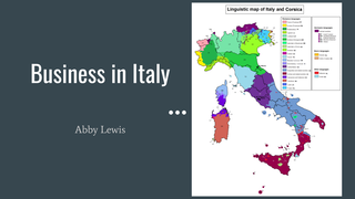 DBT 6.1 business in Italy