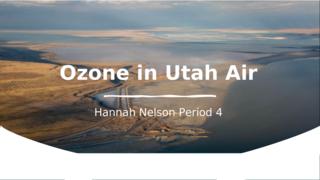 Ozone in Utah