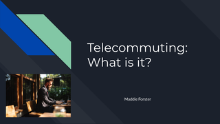 Telecommuting: What is it?