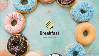 Kopie van Donut Shop Branding