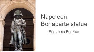 monument: Napoleon Bonaparte
