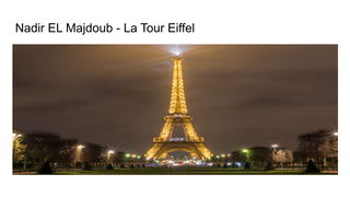 Monument: Tour eiffel