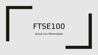 FTSE100 - Unilever