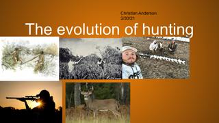 evolution of hunting