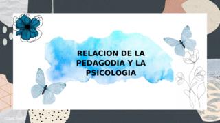 PEDAGOGIA-PSICOLOGIA