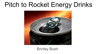 Pitch to Rocket Energy