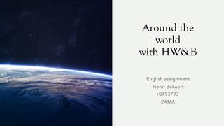 Around the world with HWB