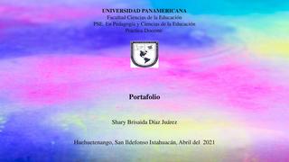 Portafolio Virtual Shary Díaz