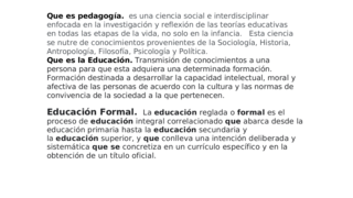 Que es pedagogia texto paralel