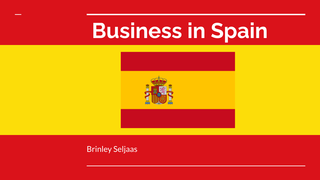 Business in Spain