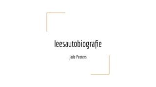 leesautobiografie