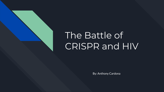 The Battle of CRISPR and HIV