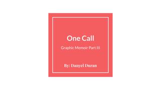 Graphic Memoir Part III