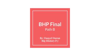 BHP Final Path B