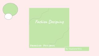 Copy of Fashion Designing