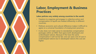 Labor, Employment and Business