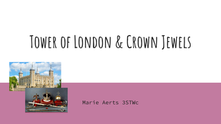 Marie Aerts: Tower of London &