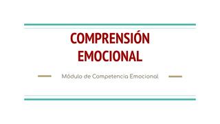 Comprensión emocional - Módulo