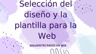 Diseño web Wix