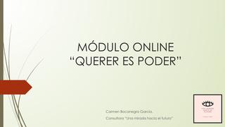 MÓDULO ONLINE CARMEN