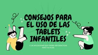 consejos para el uso de tablet