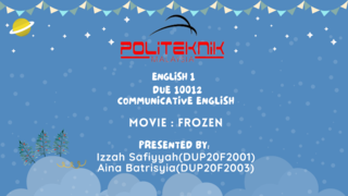 MOVIE REVIEW ON FROZEN