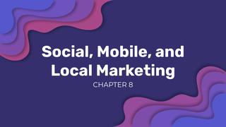 Intro. & Social Marketing