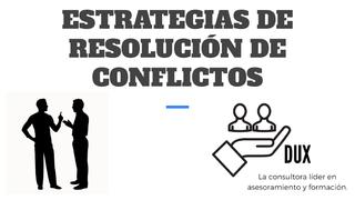 ESTRATEGIAS DE RESOLUCIÓN DE C