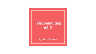 Telecommuting #3-2