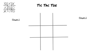 Tic Tac Toe with Blends
