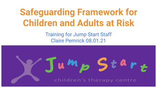 Safeguarding Jump Start Traini
