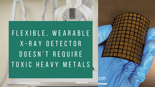 Wearable X-Ray Detector