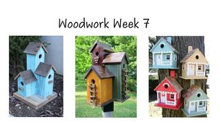 Woodwork Week 7